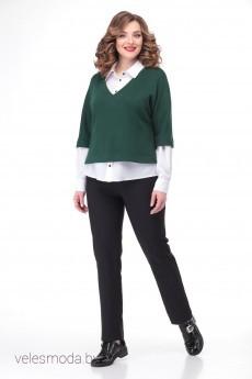 Джемпер+блузка В-363Б  Карина Делюкс