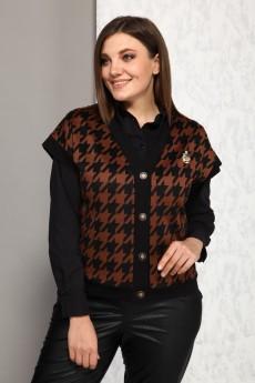 Жилет+рубашка 9936К  Карина Делюкс