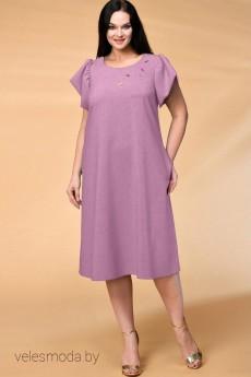 Платье 522 фиолетовый Кокетка и К