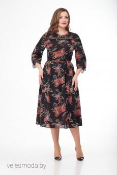 Платье 696-1 Кокетка и К