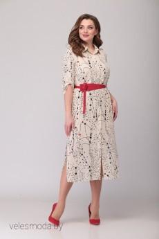 Платье 719 Кокетка и К