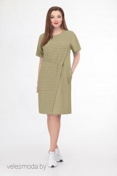 Платье 732-1 Кокетка и К