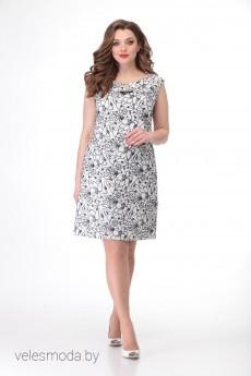 Платье 738 Кокетка и К