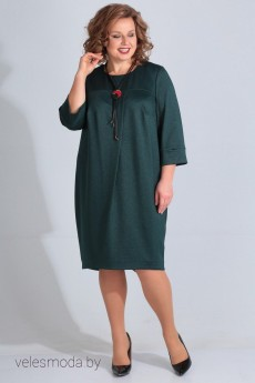 Платье 1157 изумруд LADIS LINE