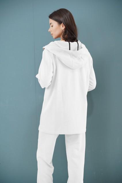 Спортивный костюм 1328 молочный LADIS LINE