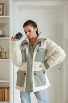 Куртка 1381 белый LADIS LINE