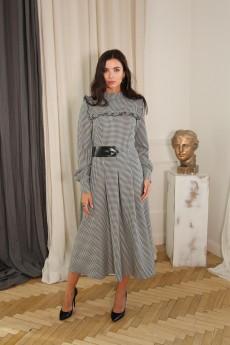 Платье 1383 гусиная лапка LADIS LINE