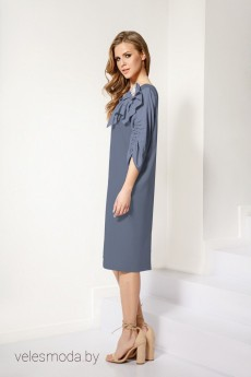 Платье 546 голубой Lokka