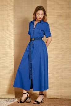 Платье 616 василек LOKKA