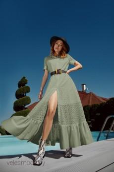 Платье 625 хаки LOKKA