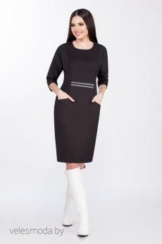 Платье 1287 черный LaKona
