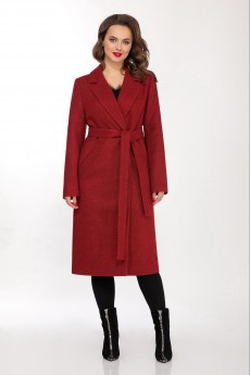 Пальто 1341 красный LaKona