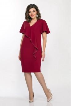 Платье 1343 винный LaKona