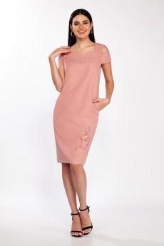 Платье 1363 дымчатая роза LaKona