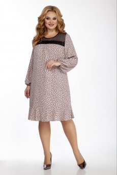 Платье 1413 пудра LaKona