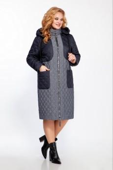 Пальто 1430 синий LaKona