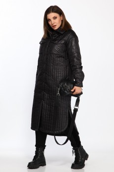 Пальто 8011 черный Ladysecret