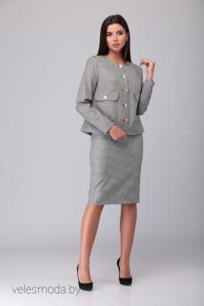 Костюм с юбкой 469 Lars Style