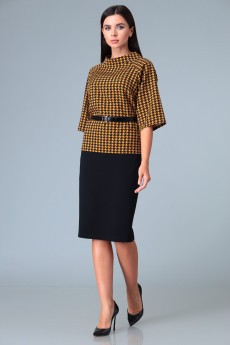 Костюм с юбкой 629 Lars Style