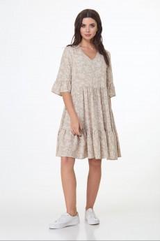 Платье  290 бежевый Le Collect