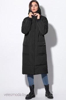 Пальто 11045 черный LeNata