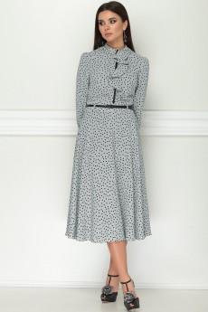 Платье 11151 серо-голубой LeNata