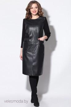 Платье 11167 черный LeNata