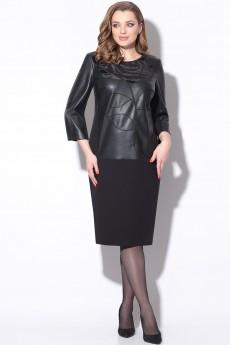 Платье 11173 черный LeNata