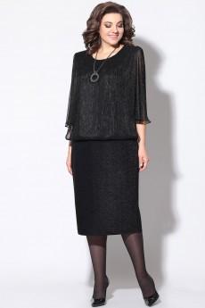 Платье 11174  черный LeNata