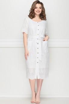 Платье 11204 белый LeNata