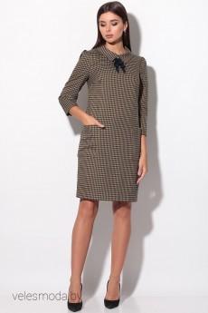 Платье 11989 крупная лапка LeNata