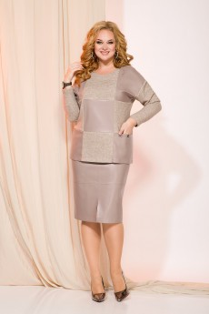 Костюм с юбкой 1003 Liliana-style