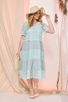 Платье 956N аква Liliana-style