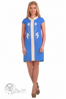 Платье 1526 синий Linia-L