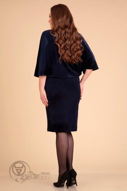 Платье 609 темно-синий Liona