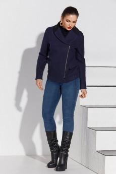 Пальто 4114 синий Lissana