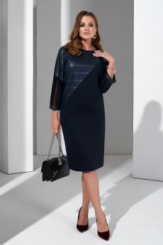 Платье 4407 темно-синий Lissana
