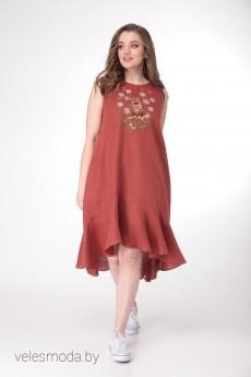 Платье 4109 терракот MALI