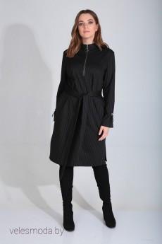 Платье 420-106 черный MALI