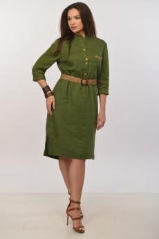 Платье 421-018 зеленый MALI