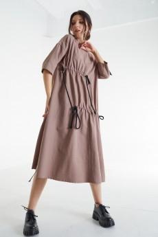 Платье 421-057 кофе MALI