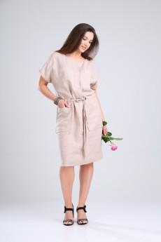 Платье 421-063 бежевый MALI