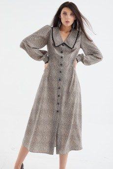 Платье 421-090 леопард MALI