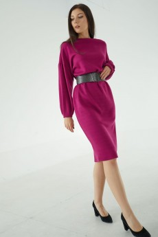 Платье 421-107 фуксия MALI