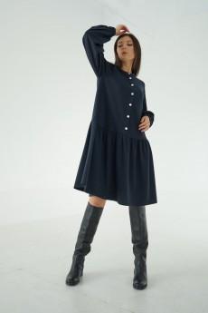 Платье 421-110 синий MALI