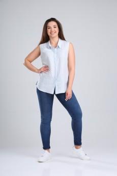 Блузка 621-065 полоска MALI