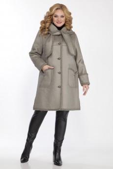 Пальто 2.1024 хаки Matini