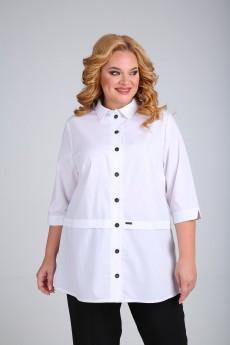 Блузка 021 белый MammaModa