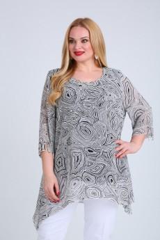 Блузка+жилет - MammaModa