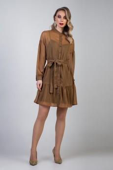 Платье 362 светло-коричневый Marika
